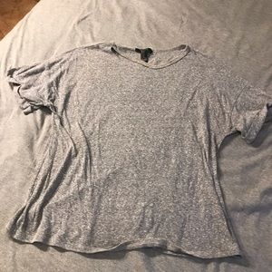 Grey top from Forever 21